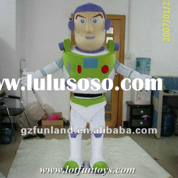 Buzz Lightyear Cartoon Character Mascot Costume