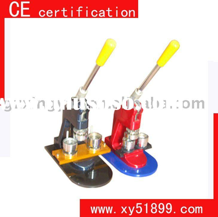 CE certification manual button badge making machine