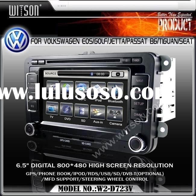 Car VIDEO WITSON Special Car DVD Player With GPS For Volkswagen EOS/GOLF/GTI/Jetta/Passat B6/Rabbit/