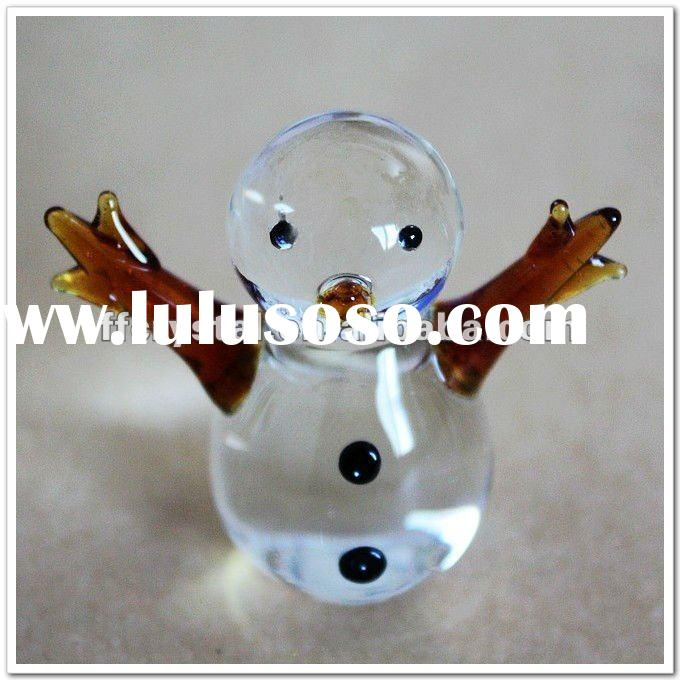 Cheap Gifts Glass Angel Figurine for Christmas and Holiday Decoration FF-G10038-2