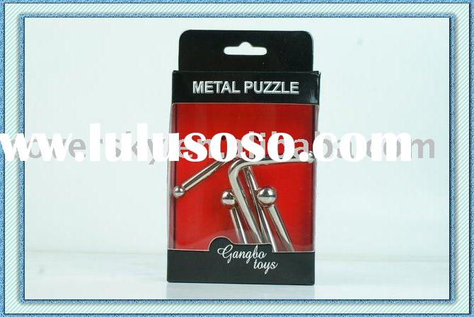 Children Brain Games Metal Wire Puzzle