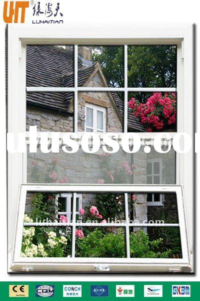 China factory - upvc Single (Double) hung vertical sliding window