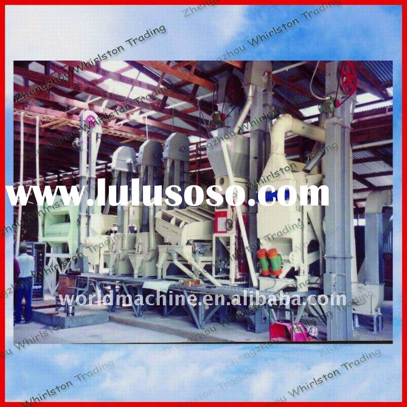 Complete set rice mill machine