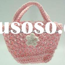 Crochet Baby Mini Bag Shower Gift, Wedding Shower Gift, Baby Shower Party Decoration