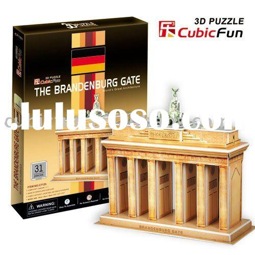 Cubic Fun 3D Puzzle - The Brandenburg Gate (Germany)