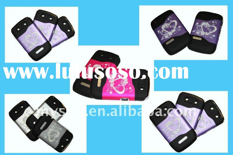 Custom Best Personalized Cell Phone PC Combo Case Covers for Blackberry Curve 8900/8520/9700 with Ra