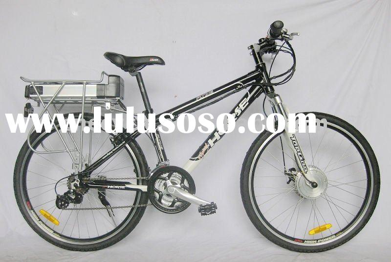 DIY 36V Li-ion battery pack electric bicycle kit.