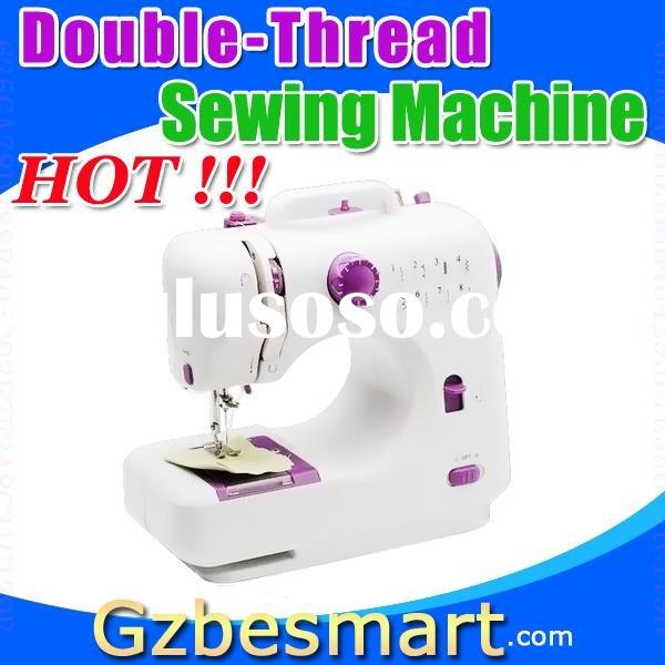 Double-thread mini sewing machine overlock sewing machine manual