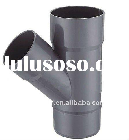 Drainage PVC Pipe Fittings Y Tee/ PVC 45 Degree Lateral Tee