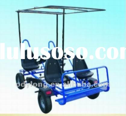 Dual person go-kart,4 seats,leisure four wheel bike