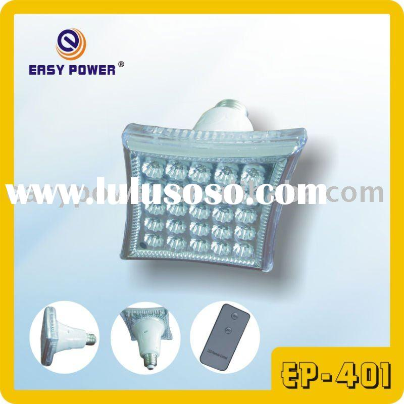 EP-401 E27/B22 Rechargeable bulb with remote control 25 PCS LED
