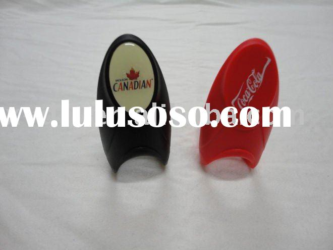 Eco-friendly And High Quality Finger Plastic Bottle Opener