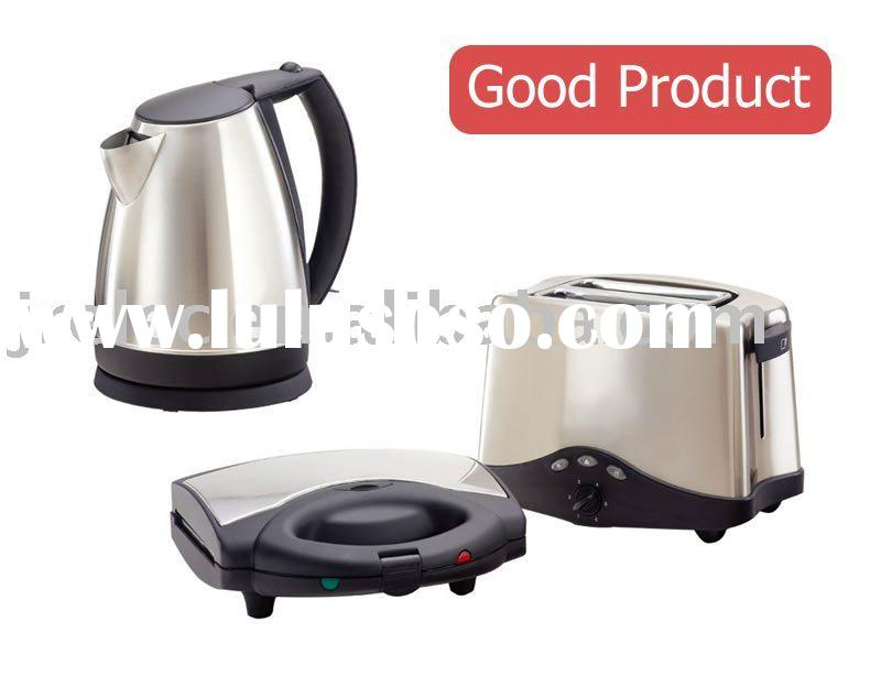 Electric Kettle/Electric Toaster/2 Slice Toaster/Sandwich Maker/3 in 1 Breakfast/Morning Set 3 in 1