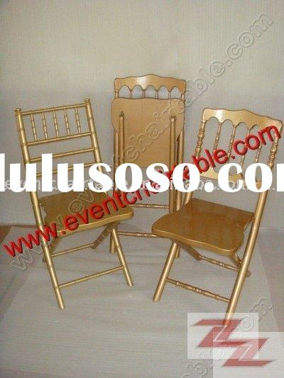 Folding Chiavari Chair, Folding napoleon chair,Folding chateau chair,folding wedding chair, folding