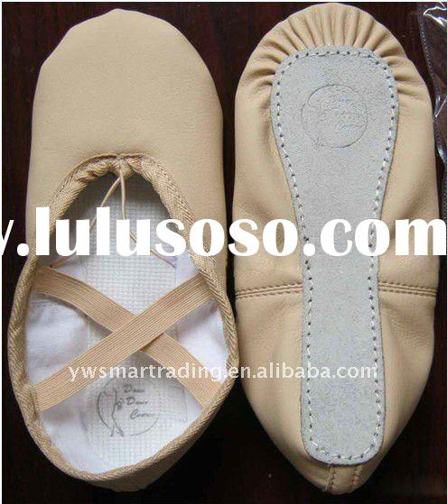 Full sole ballet shoes Canvas ballet shoe baby ballet shoes high standard quality 2012