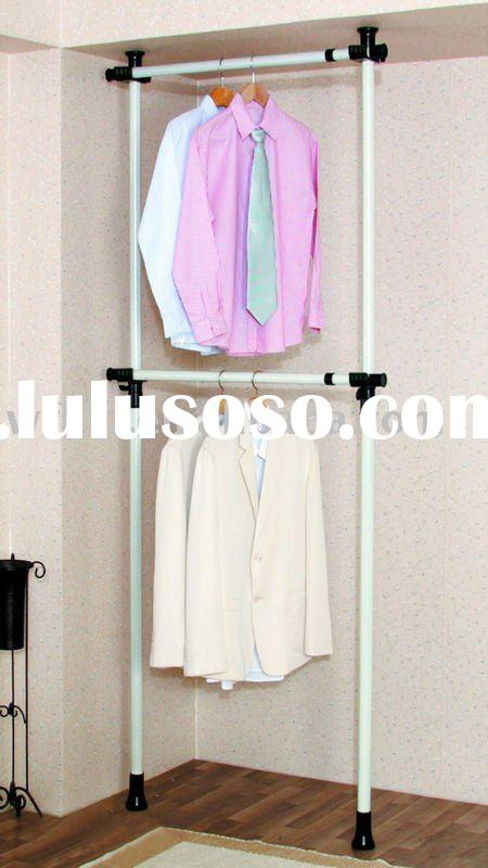 Garment Rack multifunctional Wall clothes hanger rack
