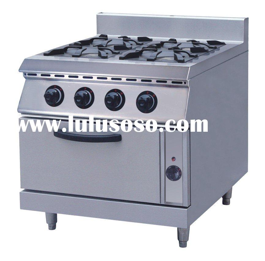 Gas Stove With Electric Oven