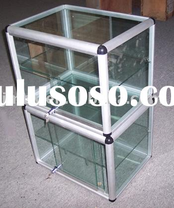 Glass showcase, display case, display box