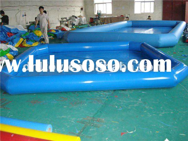 Good pvc above ground swimming pool