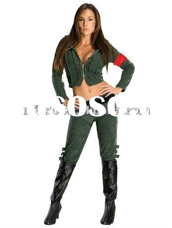 Halloween Party Adult Military Costumes for Women MAA-1085