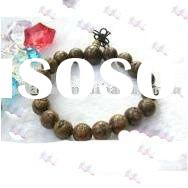 Handmade wood bead bracelet/Bracelet for men and women/Fashion accessories