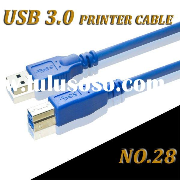 High SPEED USB CABLE 3.0 AM/BM FOR PRINTER WITH USB 3.0