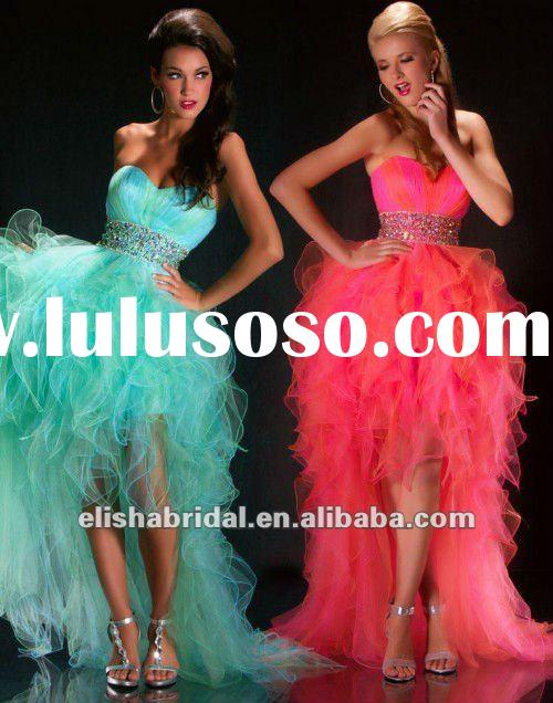 Long Prom Dresses With Feathers Feather Prom Dresses Short