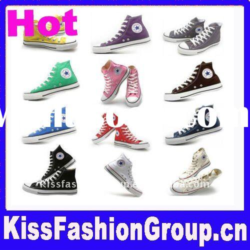 Hot!! canvas high top shoes