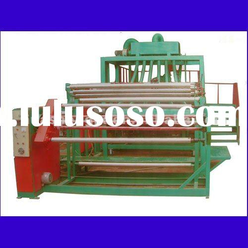 Hot top three layer stretch and laminating film machine