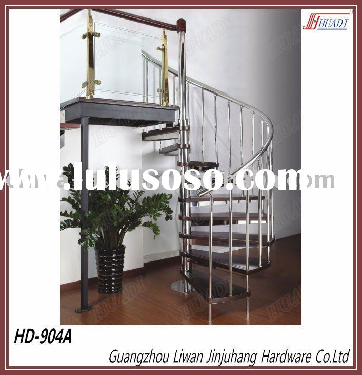 Indoor Stainless Steel Spiral Stairs