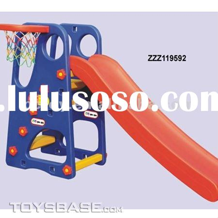 Indoor plastic kids slides