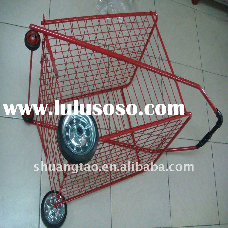 Inexpensive and simple grocery shopping carts(factory)ISO9001:2000
