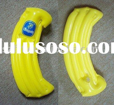 Inflatable banana pouch,inflatable banana holder,inflatable banana case,inflatable banana bag