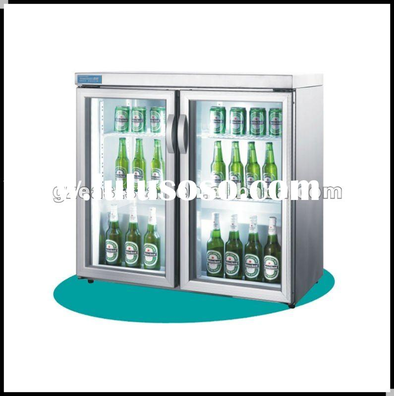 KILLER DEAL table top glass door cooler display showcase