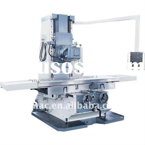 Large size bed type universal milling machine