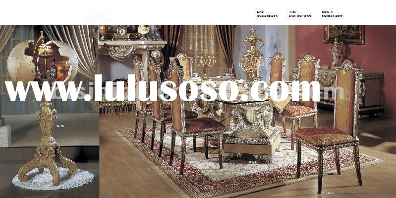 Luxury dining sets,luxury european dining room furniture,wine rack(B50578)