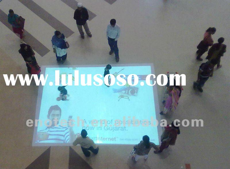 Magic wall projection/interactive wall for advertising, wedding, display, conference, shopping mall,