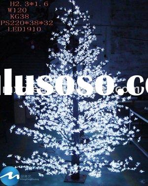 Maple Leaf LED Tree Lighting White/Bule/Yellow/Red/Green,LED christmas decoration light