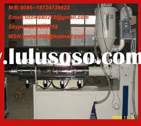 Multi layer CO-Extrusion plastic making machinery/pvc pipe machine price/pipe extruder machine