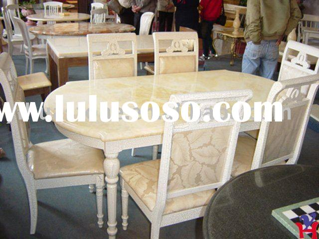 Natural Marble Stone Inlay Table Top