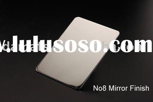 No.8 mirror finish stainless steel sheet /plate
