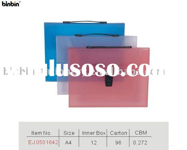 PP file case/PP file bag with handle