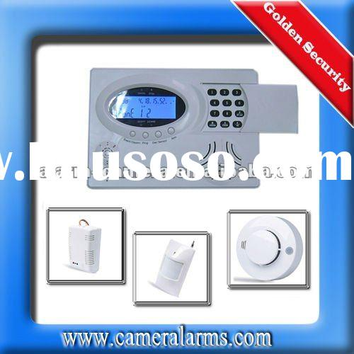 PSTN&GSM Wireless Home Shop Garden Alarm Auto Dial Security Burglar alarm system