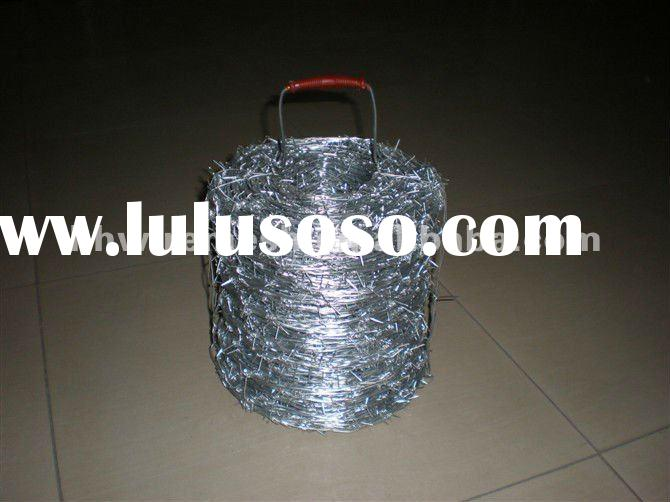 PVC Coated/Galvanized Barbed Wire (manufacturer&exporter)
