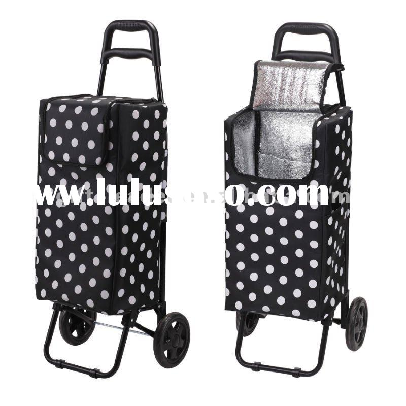Portable Trolley Shopping Bag With Wheels XS0601