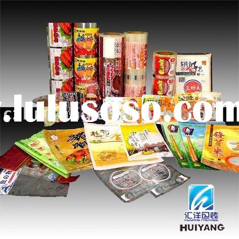 Quality printing for flexible plastic dried food packaging film