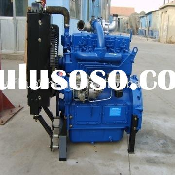 R4105D water cooled diesel engine power 38kw/1500rpm, 45kw/1800rpm, With CE and ISO9001 Certificate.