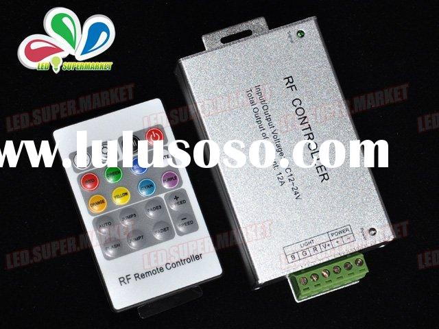 RF RGB LED Light Controller Remote Dimmer DC12V 12A NEW