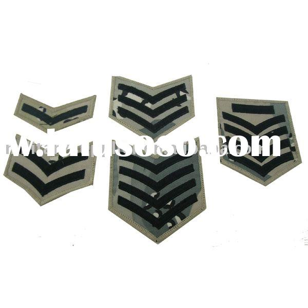 Rank Insignia, Chevron, Military Patch