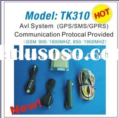 Real-Time GPS Vehicle Tracking system with Free Online Center(TK310)